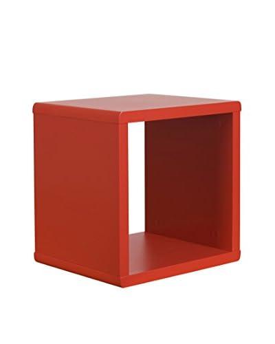 Vical Home Mesa Auxiliar Cube Rojo