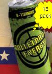 16 Pack - Bulletproof Energy - 16Oz.