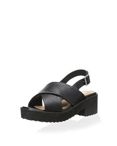 Soles Women's Dash Sandal  [Black]