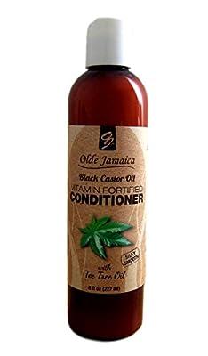 Jamaican Black Castor Oil Vitamin Fortified Black Castor Oil Conditioner with Tea Tree Oil - 8 Oz