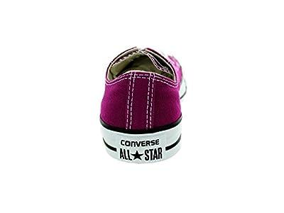 CONVERSE Unisex Chuck Taylor All Star Oxford Fashion Sneaker Shoe-Eggplant Pee-Mens
