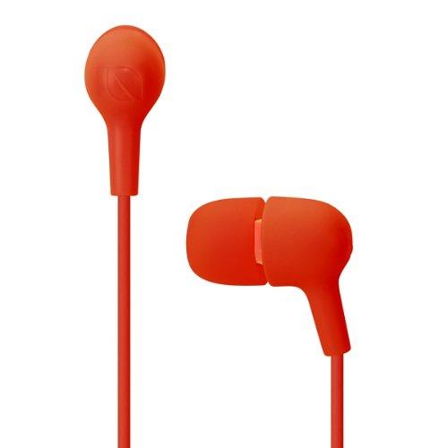 Incase Capsule In Ear Headphones - Hot Red / Mango - Ec30035