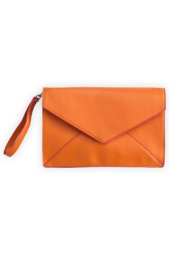 Shiraleah Nadine Oversized Vegan Leather Clutch