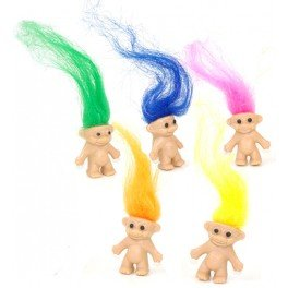Retro Trolls - Pack of 6