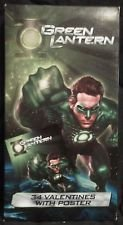 Green Lantern 34 Valentine Cards with Poster