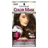 3 x Schwarzkopf Color Mask Light Brown no600