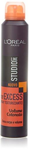 L'Oréal Paris Studio Line Txt Excess Spray Testurizzante Volume Cotonato, 200 ml