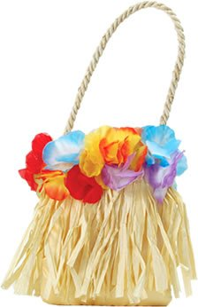 Hawaiian Flower Handbag