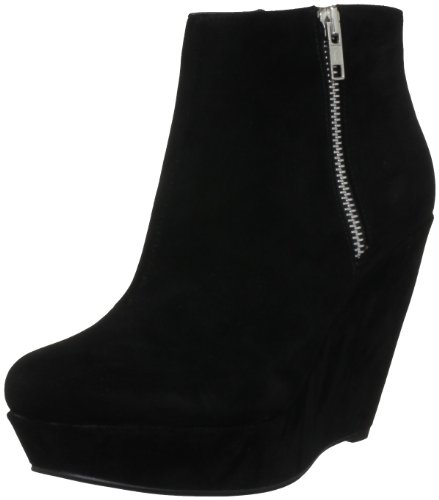 Miss KG Women's Felicity Black Wedges Boots 3184500609