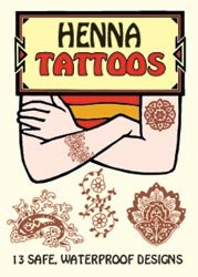 Bulk Buy: Dover Publications Henna Tattoos (5-Pack) - 1
