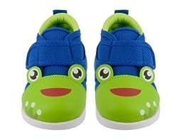 YochiYochi Frog Prince Kairu Squeaky Shoes, Size 9
