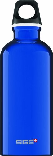 Sigg Traveler Classic Water Bottle (0.4-Liters, Reflex Blue) front-1080404