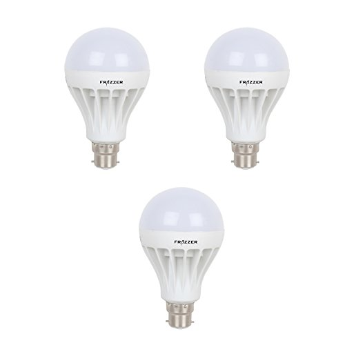 3W LED Bulb (White, Pack of 3)