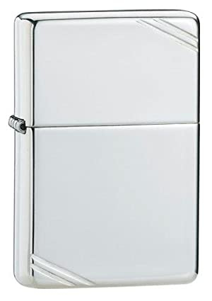 Zippo Lighter Sterling Silver, High Polish