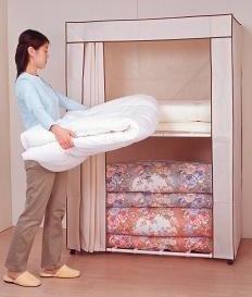寝具収納ロッカー