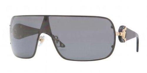 c77b69b80600 Versace 2126 100281 Black 2126 Visor Sunglasses