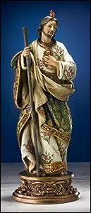 "9"" Gifts of Faith Milagros Patron Saints Statue St. Jude Figure"