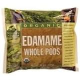 Woodstock Farms Organic Whole Pod Edamame, 10 Ounce -- 12 per case.