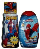 Marvel Ultimate Spiderman 2 in 1 Shampoo Amazing Spider-man Body Wash and 1 Magic Towel 3 Piece Boys Gift Set - 1