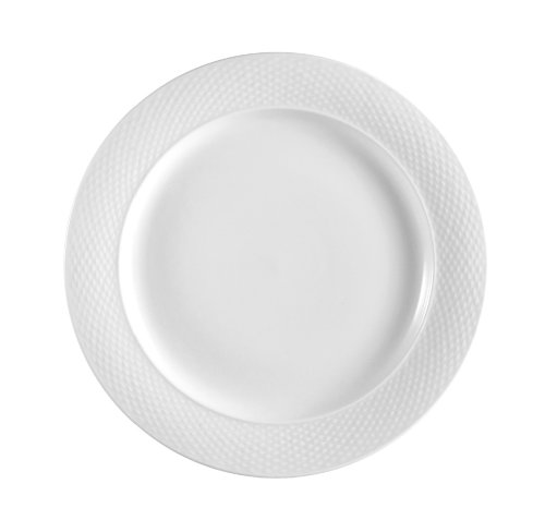 CAC China BST-7 Boston 7-1/2-Inch Super White Porcelain Plate, Box of 36