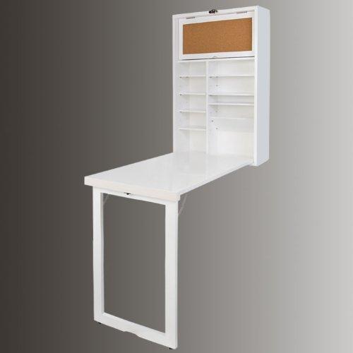 armoire murale avec table pliable int gr e memo board et un panneau sur le plateau arri re v. Black Bedroom Furniture Sets. Home Design Ideas