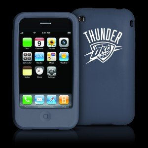 Tribeca Oklahoma City Thunder Iphone 3g / 3gs Silicone Case