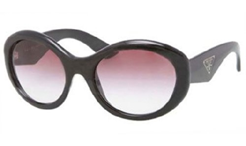 prada Prada PR30PS Sunglasses-1AB/4V1 Black (Violet Gradient Lens)-55mm