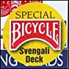 Bicycle Svengali Deck from US Playing Cards - Red or Blue