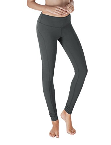 Yoga Reflex - Sweaty Pursuits for Women - Fitness Exercises Pants, CHARCOAL, L (90 Degree Panel compare prices)