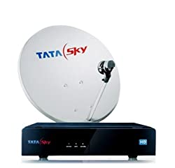 Tata Sky Hd Box With 1 Year Annual Dhamaal Pack And 1 Year Free Hd Access