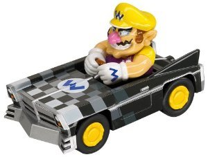 "MarioKart DS Pull & Speed 4"" Race Car - Wario Brute - Model 19302 - 1"