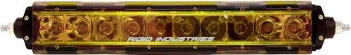 "Rigid Industries 19093 Sr-Series Amber 10"" Light Cover"