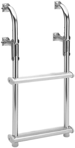 Garelick/EEz-In 18017:01 Marine Compact Two-Step Transom Ladder