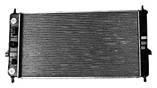 TYC 2608 Chevrolet Cobalt 1-Row Plastic Aluminum Replacement Radiator (05 Cobalt Radiator compare prices)