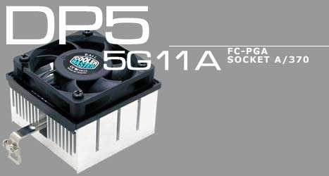 Cooler Master DP5-5G11A-01 CPU Cooling Fan (FC-PGA, Socket A/370) (Cooler Master Replacement Fan compare prices)