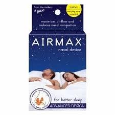 Macks Airmax Nasal Device For Better Breathing (Small, Better Sleeping)