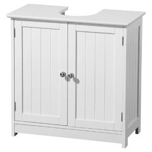 Premier Housewares 60 x 60 x 30 cm Under Sink Bathroom Cabinet