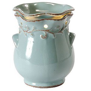 country-crock-blue-fragrance-warmer-wax-melter-by-ambiescents