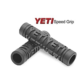 Odi Yeti Speed Grip MTB Bicycle Handle Bar Grips - Pair - Black - D01YSBK