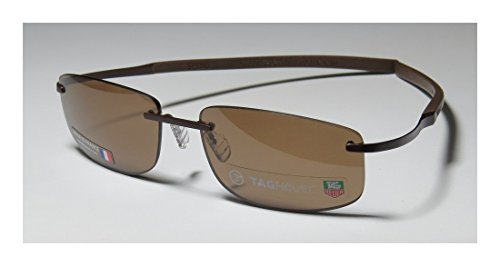Tag Heuer Spring Sunglasses Th 0383 202 57x17 Chocolate Frame / Brown Lens (Joseph Smith Ring compare prices)