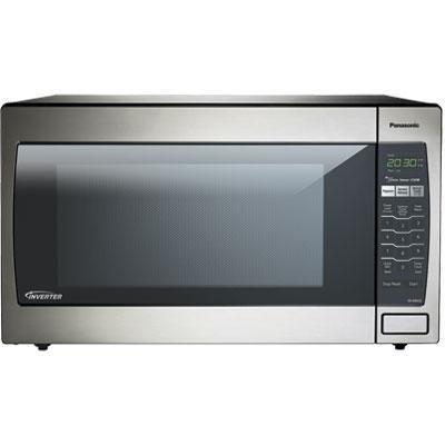 Panasonic Nn-Sn952-S 2.2Cu Ft Genius Countertop Microwave With Inverter 1250Watt