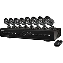 Swann Advanced Video Surveillance System. 8CH DVR AND 8PRO CAMERAS 500GB HDD NETWORK AND 3G CONNECTIVITY. 8 x Digital Video Recorder, Camera - H.264 Formats - 500 GB Hard Drive