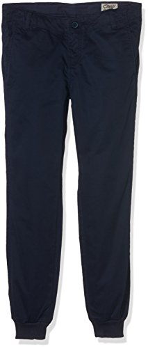 Teddy Smith CHINO RIB JR-Mutande Bambino    Blu (Dark Blue) 16 anni