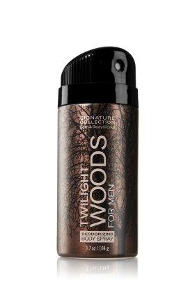 バス&ボディワークス トワイライトウッド フォーメン デオドラント スプレー Twilight Woods FOR MEN Deodoraizing Body Spray