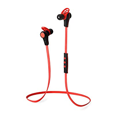 """SNEER® """"iSport"""" Series Premium 2014 Newest Mini Wireless Bluetooth Headset Stereo Sports/Running & Gym/Exercise Bluetooth Earbuds Headphones Headsets w/Microphone for Iphone 5S 5C 4S 4, Ipad 2 3 4 New iPad,iPad Air Ipod, Android, Samsung Galaxy S5,Galaxy"""