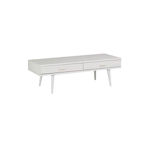 ローテーブル 120cm 引き出し付き 座卓 aster 1200センターテーブル ホワイトウッド
