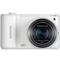 Samsung WB800F Smart Wi-Fi Digital Camera (White)