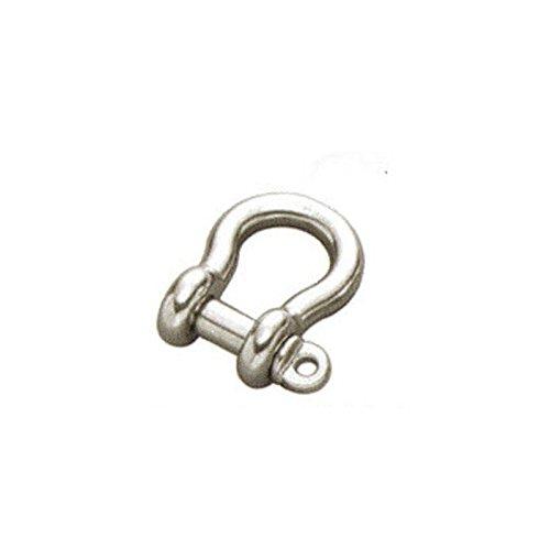 Grillo di prua in acciaio inox 316 (A4) 4mm Confezione: 2