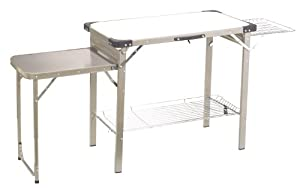 Outbound Portable Camp Kitchen (Silver, Large) by Outbound Equipment
