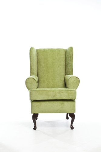 """Cavendish Orthopedic High Seat Chair (21"""" SEAT HEIGHT) - Oatmeal with a tinge of Green - FROM OUR BEST SELLING RANGE"""